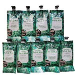 9x BioMiracle Star Dust Soothing Peel Off Mask
